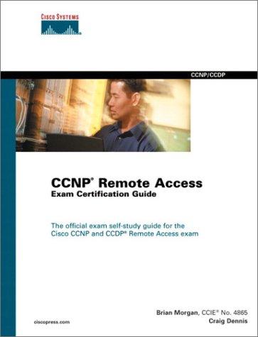 9781587200038: Cisco CCNP Remote Access Exam Certification Guide (Cisco Career Certifications)