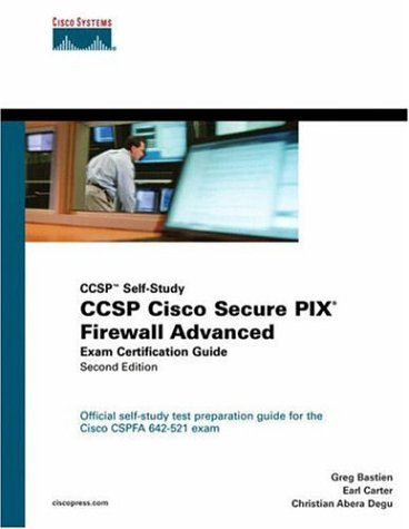 9781587201233: CCSP Cisco Secure PIX Firewall Advanced Exam Certification Guide (CCSP Self-Study) (2nd Edition)