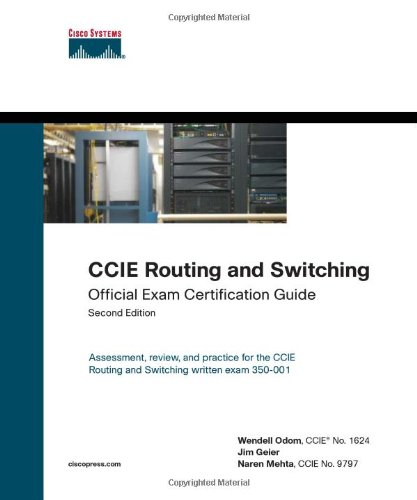 9781587201417: CCIE Routing and Switching Official Exam Certification Guide