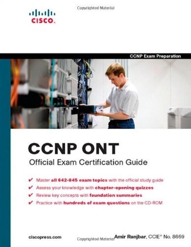 9781587201769: CCNP ONT Official Exam Certification Guide