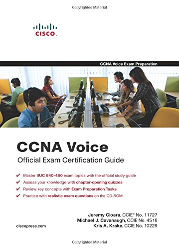 9781587202070: CCNA Voice Official Exam Certification Guide (640-460 IIUC)