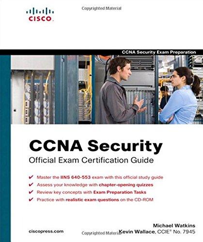 9781587202209: CCNA Security Official Exam Certification Guide (Exam 640-553)