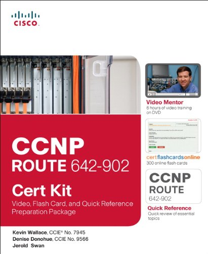 9781587203176: CCNP ROUTE 642-902 Cert Kit: Video, Flash Card, and Quick Reference Preparation Package (Cert Kits)