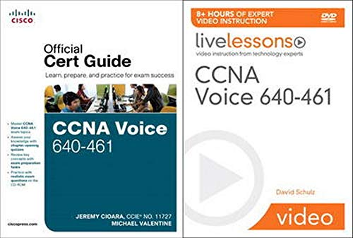 9781587204272: CCNA Voice 640-461 Official Cert Guide and LiveLessons Bundle