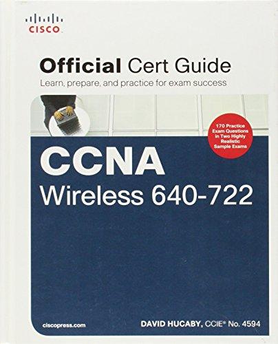 9781587205620: CCNA Wireless 640-722 Official Cert Guide