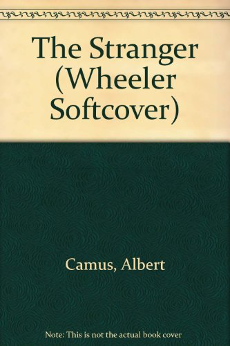 9781587240324: The Stranger (Wheeler Large Print Book Series)