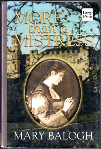 More Than a Mistress: Balogh, Mary