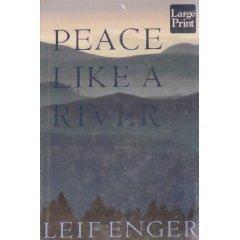 9781587242120: Peace Like a River (Wheeler Large Print Books)