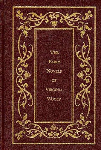 The Early Novels of Virginia Woolf: The: Woolf, Virginia
