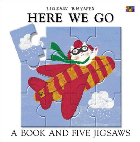 9781587280245: Here We Go: A Book and Five Jigsaws (Jigsaw Rhymes)