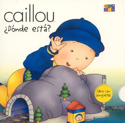 9781587284021: Donde Esta? (Where is it?) (Caillou)