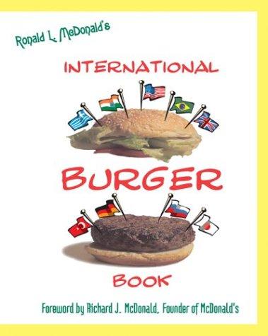 9781587362675: Ronald McDonald's International Burger Book