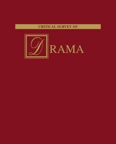 Critical Survey of Drama (Hardback)