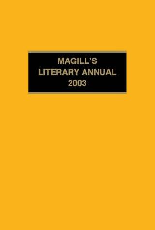 9781587651298: Magill's Literary Annual 2003