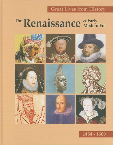 Great Events from History: The Renaissance & Early Modern Era: Christina J. Moose