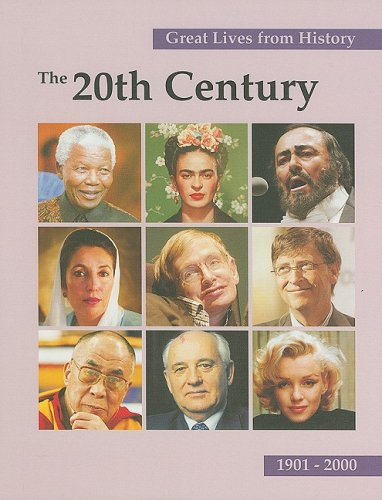 9781587653490: 4: The 20th Century, 1901-2000 (Great Lives from History)