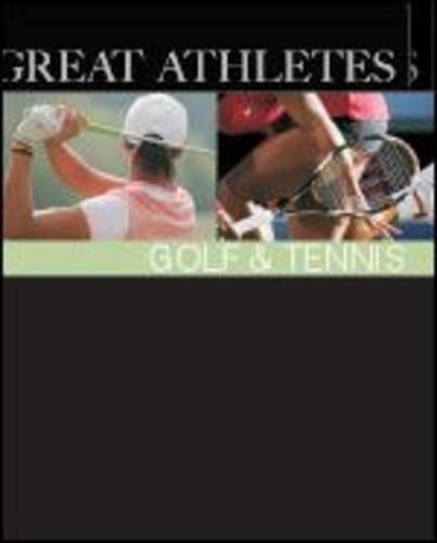 9781587654800: Great Athletes Golf & Tennis