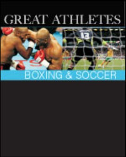 9781587654817: Great Athletes Boxing & Soccer