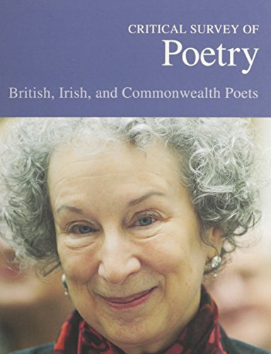 9781587655890: Critical Survey of Poetry: British, Irish & Commonwealth Poets-Volume 1