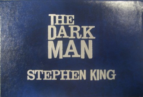 The Dark Man: An Illustrated Poem (Slipcased Edition): King, Stephen