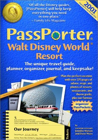 9781587710001: Passporter Walt Disney World 2001: The Unique Travel Guide, Planner, Organizer, Journal & Keepsake