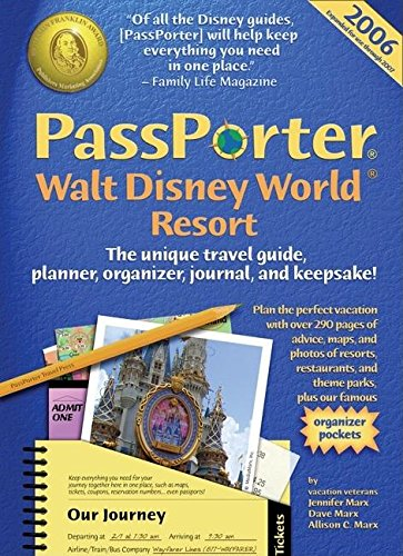 9781587710278: PassPorter Walt Disney World Resort 2006: The Unique Travel Guide, Planner, Organizer, Journal, and Keepsake!