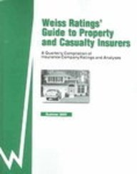 9781587732171: Weiss Ratings' Guide to Property and Casualty Insurers: Summer 2005 (Weiss Ratings Guide to Property & Casualty Insurers)