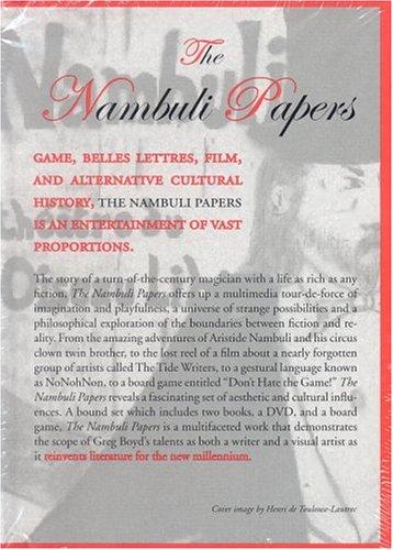 The Nambuli Papers: A multimedia novel: Boyd, Greg