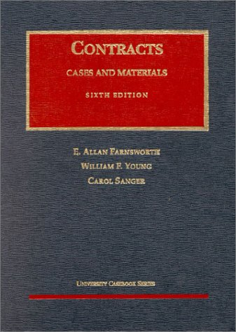 9781587780578: Contracts: Cases and Materials (University Casebook Series)