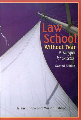 9781587781872: Law School Without Fear: Strategies for Success (2nd Edition)