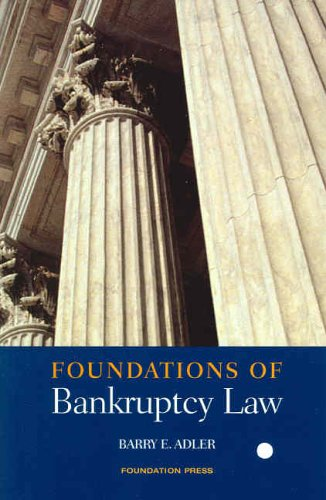 9781587782015: Foundations of Bankruptcy Law (Foundations of Law Series)
