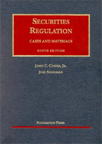 9781587782145: Coffee Securities Reg 9th (University Casebook Series)