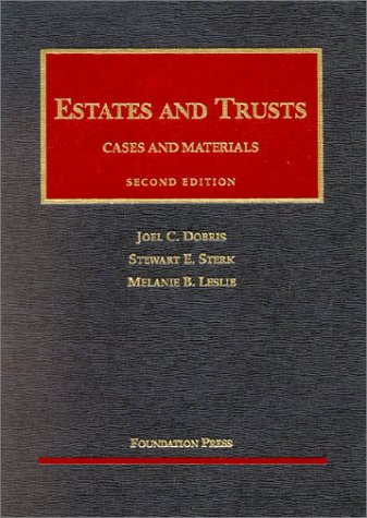 9781587784248: Estates & Trusts: Cases and Materials (University Casebook)