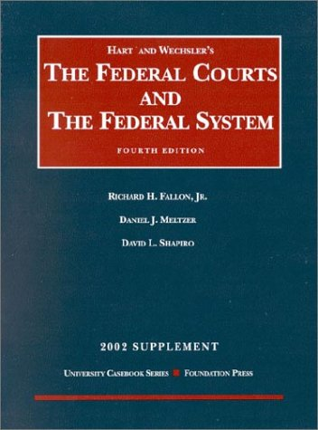 9781587784408: Supplement to Hart & Wechsler's Federal Courts