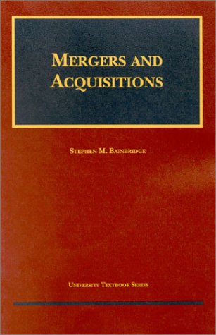 9781587785795: Mergers and Acquisitions (University Textbook Series)