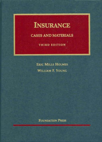 9781587785863: Cases and Materials on the Regulation and Litigation of Insurance (University Casebook Series)