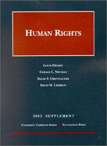 2003 to Human Rights: Gerald L. Neuman;