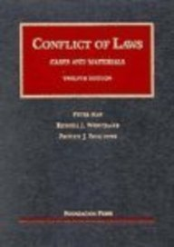 9781587787157: Conflict of Laws: Cases and Materials (University Casebook)
