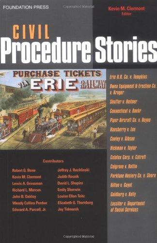 9781587787232: Civil Procedure Stories (Law Stories Series)
