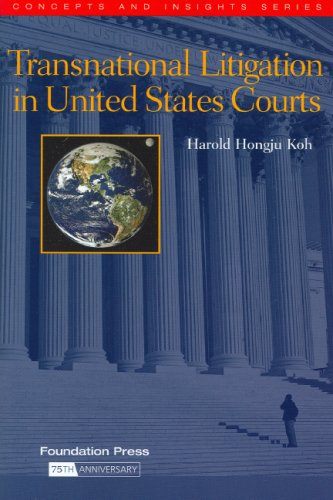 9781587787355: Transnational Litigation in United States Courts (Concepts and Insights)