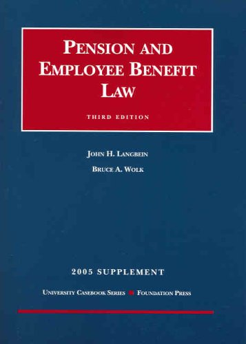 9781587788338: Pension and Employee Benefit Law, 3rd Ed.