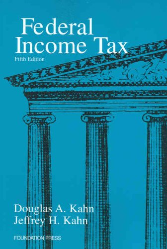 9781587788871: Federal Income Tax, 5th ed
