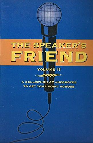 Speakers Friend Volume 2: Thompson, Leonard