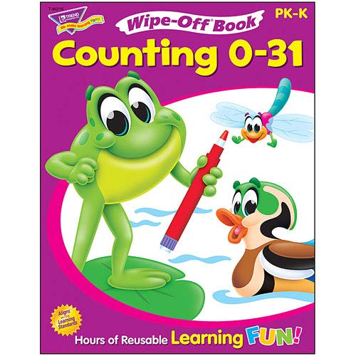 9781587921124: Wipe-Off Counting 0-31 Grades Pre-K--K
