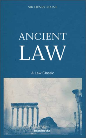 9781587980688: Ancient Law (Law Classic)