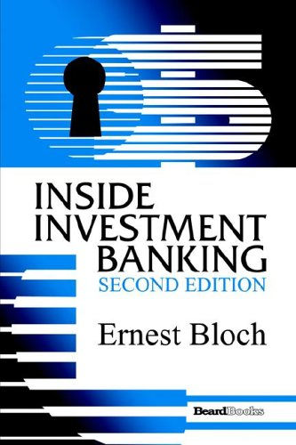 9781587982682: Inside Investment Banking, Second Edition