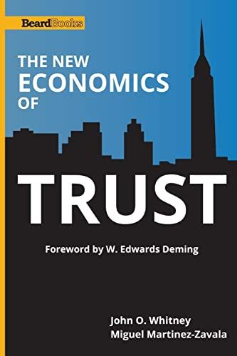9781587983023: The New Economics of Trust