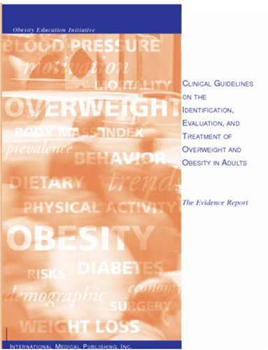 9781588080028: Clinical Guidelines on the Identification, Evaluation, and Treatment of Overweight and Obesity in Adults
