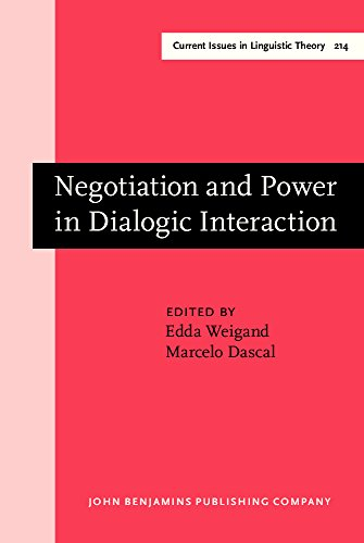9781588110473: 214: Negotiation and Power in Dialogic Interaction (Current Issues in Linguistic Theory)