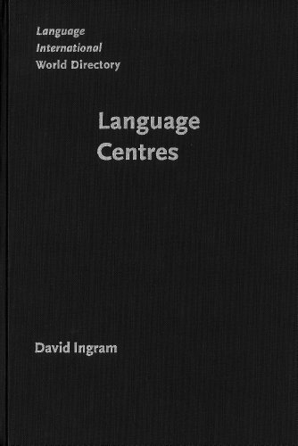 9781588110947: Language Centres: Their roles, functions and management (Language International World Directory)